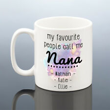 PERSONALISED NANA MUG GRANDMA MUG Call Me Nanny Birthday Gift Best Nan Cup Gran