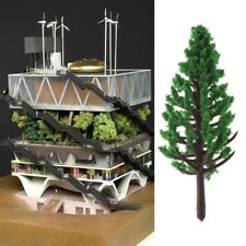 20pcs Model Trees Park Street Railroad House Layout Green Landscape Scenery Lot