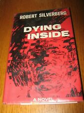 Dying Inside by Robert Silverberg - Scribners HC (1972) ex-library copy