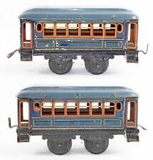 Train echelle O BING VOITURE BLEUE / jouet ancien