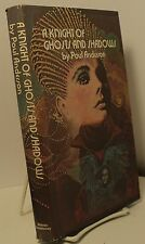 A Knight of Ghosts and Shadows by Poul Anderson - book club - signature laid in