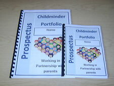 childminding informative portfolio for NEW parents childminder