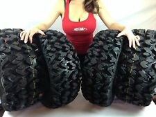 (2) New 26x9-14 & (2) 26x11-14 Sedona Rip Saw 6-Ply Radial ATV / UTV Tire Set