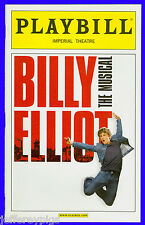 Playbill + Billy Elliot The Musical + Gregory Jbara , David Alvarez