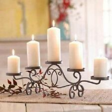 NEW-With-Tag Southern Living FILIGREE IRON CANDELABRA Iron #41280