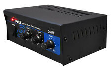 New Pyle PCA2 Mini 2x40W Stereo Power Amplifier Amp