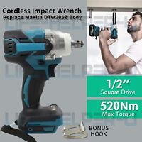 "Cordless Impact Wrench For Makita DTW285Z Brushless 1/2"" 18V Li-ion Body Only UK"