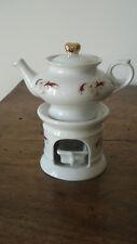 Tisanière ancienne porcelaine Paris Dinette maison poupée + 2 vases mariée XIXe