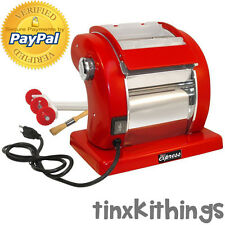 Electric Pasta Dough Roller Machine 120V Sheet Cutter Bike Cleaning Brush New