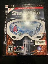 🔥Shaun White Snowboarding (Sony PlayStation 3, 2008) Target Limited Edition