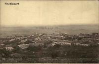 Heudicourt Frankreich Postkarte ~1910 Panorama Dorf Ansicht Carte Postale CPA