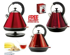 LEGACY  CORDLESS Kettle 1.8L 2200W Fast Boil  RUBY RED
