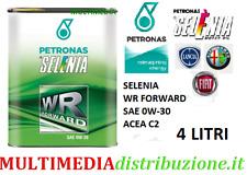 4 LITRI OLIO MOTORE ORIGINALE SELENIA WR FORWARD 0W30 C2 EURO 6 FIAT 9.55535-DS1