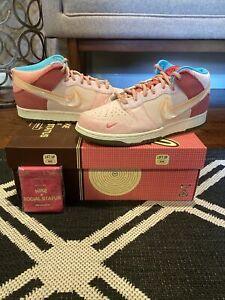 Nike Dunk Mid Social Status Strawberry Milk Size 9.5 DJ1173-600 - IN HAND!!