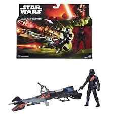 "Star Wars The Force Awakens Elite Speeder Bike Vehicle Toy & 3.75"" Figure 2015"
