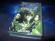 More details for doctor who creature from the pit vhs signed by david brierley / geoffrey bayldon