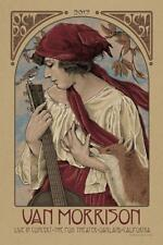 Van Morrison Oakland Fox Theater Concert Poster Timothy Pittides SIGNED #d Print