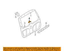 Mercedes MERCEDES-BENZ OEM 02-05 ML500 Liftgate Tailgate-Cover 16374700879B96