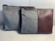 2 NEW VIRGIN ATLANTIC Upper Class Business First Amenity Kit Travel Bag HERSCHEL