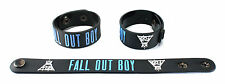 FALL OUT BOY  Rubber Bracelet Wristband Free Shipping Save Rock and Roll aa117