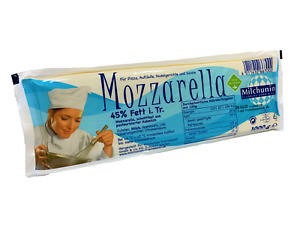 Mozzarella Block 1kg 45% - Milchunion - Käse, Tomate Mozarella