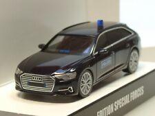 grau met Herpa Audi A6 Avant SEK GSG9 Polizei Spezialeinsatzkom 936378-1:87