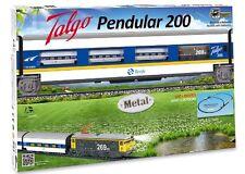 Pequetren - 975, Trenino elettrico Talgo Pendular 200, con pista da 5,8 m (j1T)