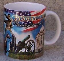 Coffee Mug Explore America Gettysburgh Battle Field NEW 11 ounce cup w/ gift box