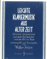 Leichte Klaviermusik aus alter Zeit - Walter Frickert