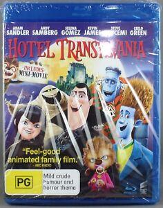 HOTEL TRANSYLVANIA (BLU-RAY, 2013) BRAND NEW / SEALED - R-ABC