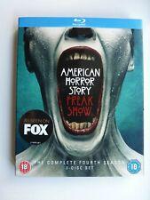 American Horror Story: Freak Show - Fourth Season (Blu-ray, 2015) with slip, New