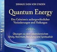 Quantum Energy - Die Übungen Teil 2 - Doppel-CD von Sira... | Buch | Zustand gut