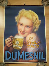 KLEINPLAKAT BIERE DUMESNIL. 35cm x 48cm von ca.1920
