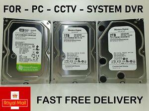 """3.5"""" PC Desktop SATA Internal Hard Drive 500GB,1TB,2TB CCTV DVR HDD UK"""