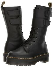 Dr. Martens Doc's Doc Martens Jagger Black Milled Nappa Leather Boots Womens 8.5