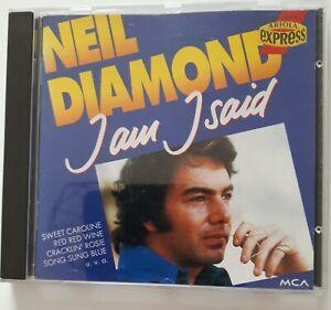 Neil Diamond CD, I am I said, 14 Top Songs