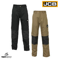 JCB The Max Cargo Combat Multi Pocket Heavy Duty Knee Pad Work Trousers Pants