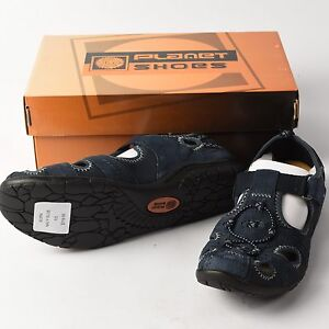 Planet Shoes Burn Womens Suede Comfort Shoes/Sandals RRP $119.95