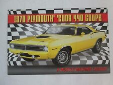 Danbury Mint Brochure 1970 Plymouth Cuda 440 Coupe