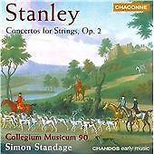 Stanley: Concertos for Strings, op. 2, , Very Good CD