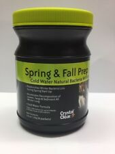 Crystal Clear Spring & Autumn Fall Prep Treats 6000 Gallons
