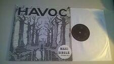"LP Rock Havoc - Same / Untitled Maxi Single 12"" (2 Song) PRIVATE PRESS Prog"