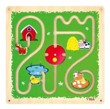 Viga Children's/Kids Wall Toy - Farm Track and Trace