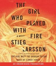Millennium: The Girl Who Played with Fire No. 2 by Stieg Larsson (2009, CD, Una…