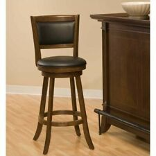 """New listing Hillsdale Dennery 24"""" Swivel Counter Stool in Cherry"""