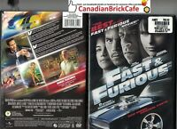 Fast  Furious (DVD, 2009) Factory sealed