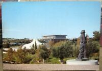 Israel Jerusalem View from Billy Rose Garden Shrine of the Book Knesset - unpost