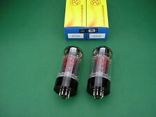2 x 6550 JJ ELECTRONIC factory matched Pair ~ KT88 -> tube amp Röhrenverstäker
