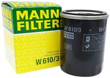 Mann-filter Oil Filter W610/3 fits MITSUBISHI TRITON MQ,MR 2.4 DI-D 4WD