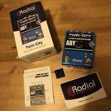 Radial Engineering R800-7115-00 Twin-City Active ABY Switcher